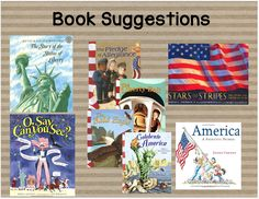 Learning Lessons With Amy Labrasciano:  Social Studies Books for American Symbols