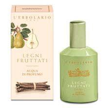 Agua de perfume Leños Frutados.Al Nectar de Pera y Leño Dulce.    50ml  100ml