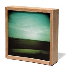 """Old """"HOLGAS"""" in color are being fitted in small WOOD boxes... NO LIGHT here * Small Wood Box, Wood Boxes, Blog, Studio, Lighting, Frame, Handmade, Home Decor, Picture Frame"""
