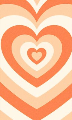 Orange Wallpaper, Hippie Wallpaper, Heart Wallpaper, Wallpaper Iphone Cute, Aesthetic Iphone Wallpaper, Aesthetic Wallpapers, Cute Patterns Wallpaper, Trendy Wallpaper, Pretty Wallpapers