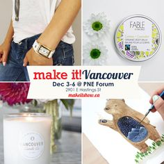 Interested in seeing behind the scenes of a successful craft show? Interview with Make It! Vancouver, Fable, The Province, American Crafts, Behind The Scenes, Interview, Contemporary, Blog, How To Make