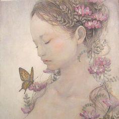 (Miho Hirano artiste-peintre japonaise)