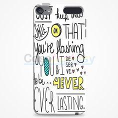 Emblem3 Chloe Lyric Cover iPod Touch 6 Case | casefantasy