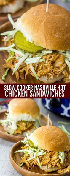 Cooked low and slow these Slow Cooker Nashville Hot Chicken Sandwiches are an easy, tasty no fuss weeknight meal that is tempting for the whole family! So have you seen this trend of the Nashville Hot Chicken yet? KFC got me hooked on the stuff. They had them in their[Read more]