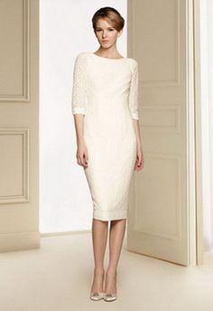 Vestido de novia cortos elegantes Más