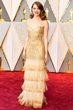 Emma Stone. Oscars 2017 Best-Dressed Celebrities: See the Head-Turning Looks