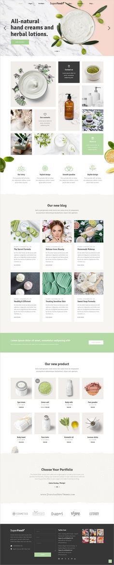 Superfood is a vibrant responsive #WordPress theme for #cosmetics #shop organic food and health products websites with 12 unique homepage layouts download now➩ https://themeforest.net/item/superfood-a-vibrant-theme-for-organic-food-and-health-products/19318249?ref=Datasata