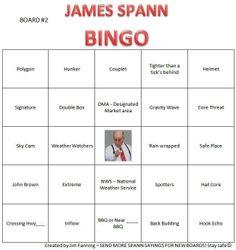 James Spann Bingo 2.
