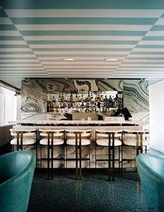 Kelly Wearstler Bar at Avalon