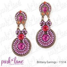 Jewels By Park Lane Britney earnings to match necklace