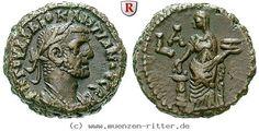 RITTER Ägypten, Alexandria, Diocletianus, Tetradrachme, Eusebeia #coins