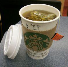 Not a coffee fan? Try Starbuck's Tazo Orange Blossom Tea Non Coffee Starbucks Drinks, Starbucks Secret Menu, Tazo Tea Recipe, Decaf Tea, Coffee Presentation, Smoothie Drinks, Smoothies, Coffee Recipes, Drinking Tea