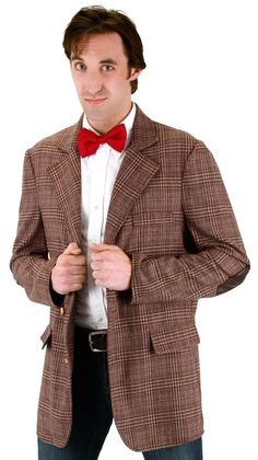 ADULT DOCTOR WHO 11TH DOCTOR JACKET