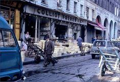 La rue des Innocents, juste à côté des Halles, en 1968. Photo © Ministère de l'Équipement (Paris 1er)