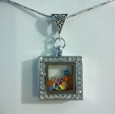 Beautiful Support Autism Floating Locket by PersnicketyPatty