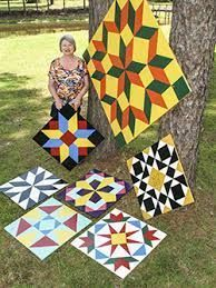 Regina Breland wants to blanket Mississippi with barn quilts Barn Quilt Designs, Barn Quilt Patterns, Quilting Designs, Block Patterns, Wood Patterns, Crochet Patterns, Amish Barns, Barn Signs, Wood Signs