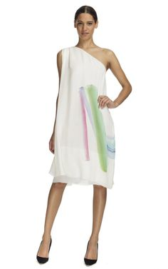 Boy. by Band of Outsiders Ivory Toga Drawstring Dress