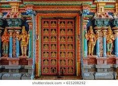 colorful hindu temple - Google Search Asian Architecture, Hindu Temple, Colorful, Google Search, Painting, Art, Art Background, Painting Art, Kunst