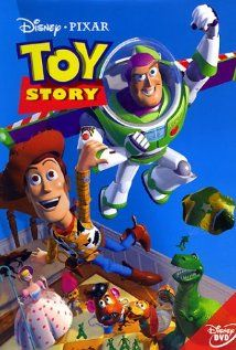 Toy Story (1995)  Directed by John Lasseter,  Starring Tom Hanks, Tim Allen & Don Rickles.