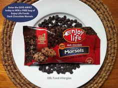 EBL Food Allergies: Enter the GIVE-AWAY today to WIN a FREE bag of Enjoy Life Foods Dark Chocolate Morsels, THREE LUCKY WINNERS