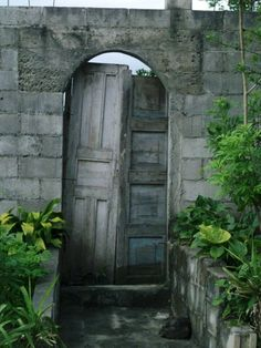 Door in a village in El Salvador.