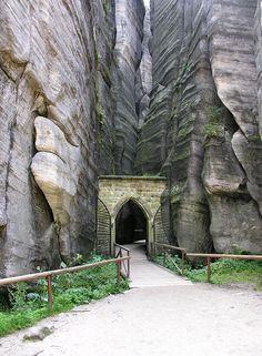 Adrspach National Park, Trutnov, Czech Republic, Europe.