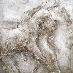 Found it at Wayfair - Horse Painting Print Art on Canvas