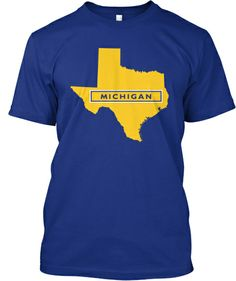 Limited-Edition Texas for Michigan Shirt
