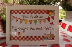 Piquenique Indoor Picnic, George Pig, Picnic Birthday, Picnic Lunches, Baby Shower, Peppa Pig, Holiday Decor, Frame, Kids