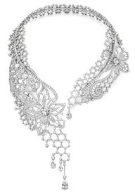 Piaget Biennale diamond #necklace