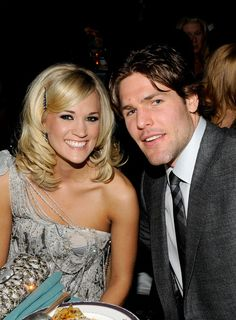 Mike Fisher and Carrie Underwood Photos Photos: Annual GRAMMY Awards Salute To Icons: Doug Morris - Roaming Inside Carrie Underwood Husband, Carrie Underwood Wedding, Carrie Underwood Mike Fisher, Carrie Underwood Photos, Carrie Fisher, Country Singers, Country Music, Country Artists, Country Life