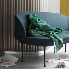 A blanket adds warmth, cosiness and colour to your home decor. Choose a matching blanket with your cushions, or spice up the sofa with a richly coloured blanket. Danish Design Store, 2 Seater Sofa, Oslo, Furniture Collection, Design Firms, Decoration, Scandinavian Design, Home Accessories, Blanket