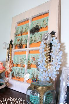 Embrace My Space: Jewelry Display