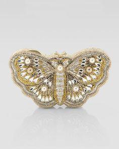 Judith Leiber  Farfallina Butterfly Clutch Bag_  $5195.00