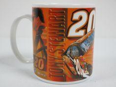 Nascar Winners Circle Tony Stewart #20 Coffee Cup Mug