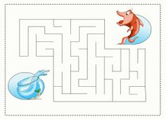 Dr. Seuss Cat In The Hat Fish Bowl Maze Game