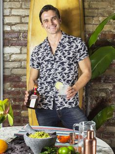 Queer Eye's Antoni Porowski Shares His Go-To Margarita Recipe—With a Twist