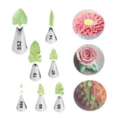 Complete your flower piping with this marvelous leaves piping nozzles too! Material: Stainless SteelSetIncludes:Happy SatchelsPipingTips Decoration Nozzles.  **FREE SHIPPING WORLDWIDE NOW** ClickADD TO CARTto Order Yours Now! Due to massive global ordering, please allow for at least 2-3 weeks of shipping time for the delivery of your order. Satisfaction Guaranteed With Every Order.All prices are listed in USD. Our Tulip Flower Cake Decoration Set is not to be confused with a Nifty…