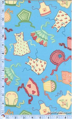 Kitchen Capers - Tossed Retro Aprons by Mary Engelbreit - Mary Engelbreit, Elkabee's Fabric Paradise.com, LLC