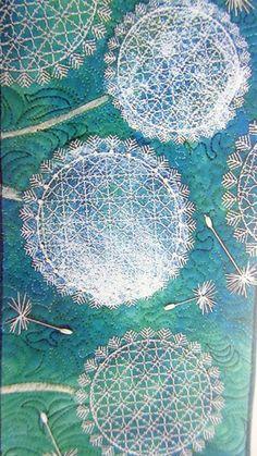 Workbox Magazine regularly features art quilts from a huge variety of quilters. Textiles, Abstract Flowers, Magazine Art, Textures Patterns, Mixed Media Art, Textile Art, Quilt Blocks, Flower Designs, Fiber Art