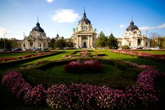 The Széchenyi Bath & Spa is the largest medicinal bath, and one of the largest public baths, in Europe. | 29 Places That Prove Budapest Is The Most Stunning City In Europe