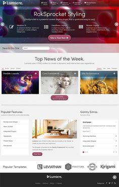 Lumiere WordPress Theme – Business WP Theme