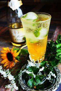 Sunflower+drop ++ ノンアルコールスパークリングワイン|レシピブログ