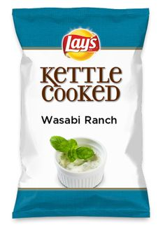Wouldn't Wasabi Ranch be yummy as a chip? Lay's Do Us A Flavor is back, and the search is on for the yummiest flavor idea. Create a flavor, choose a chip and you could win $1 million! https://www.dousaflavor.com See Rules.