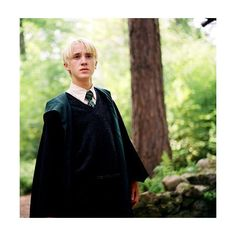 FUCK YEAH, SLYTHERIN! ❤ liked on Polyvore featuring harry potter, tom felton, draco malfoy, pictures and photos