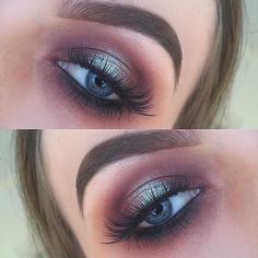 Beautiful look @amyhmakeup BROWS: #dipbrow in Medium Brown EYES: #Abhshadows…