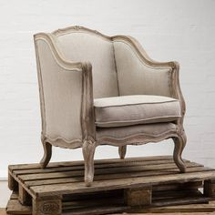 marie french style chair by swoon editions | notonthehighstreet.com