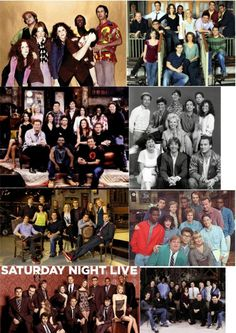 Various Saturday Night Live casts