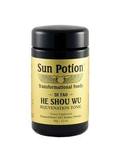 He Shou Wu (Wildcrafted) - 80g Jar
