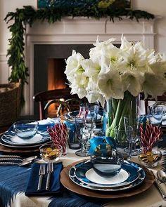 I love the solstice blue decor.